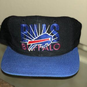 Vintage BUFFALO BILLS SnapBack BY AJD